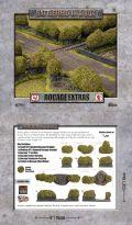 15mm WW2 Scenery - Bocage - Extras (Flocked) (5)
