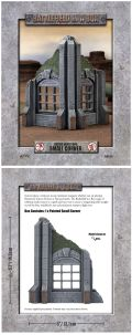28mm Scenery - Gothic Industrial - Small Corner
