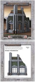 28mm Scenery - Gothic Industrial - Medium Corner