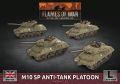 15mm WW2 British M10 SP Anti-Tank Troop (4) (Plastic)