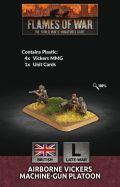 15mm WW2 British Airborne MMG Platoon (4) (Plastic)
