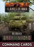 Flames of War - British D-Day British Command Cards (47)
