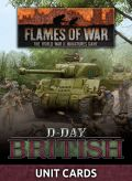 Flames of War - British D-Day British Unit Cards (66)