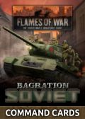 Flames of War - Russian Bagration: Soviet Command Cards (42)