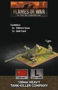 15mm WW2 Russian 100mm BS-3 Gun (2)