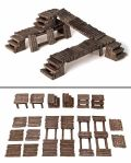 28mm Scenery - BRIDGES AND BARRICADES