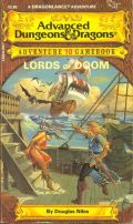 D&D Gamebooks - 10. LORDS OF DOOM - A Dragonlance Adventure (used)