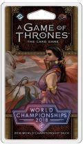 Game of Thrones LCG 2nd Ed. - 2018 WORLD CHAMPION DECK