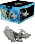 D&D Miniatures - Icons of the Realms - GARGANTUAN WHITE DRAGON: ARVEIATURACE Premium Figure