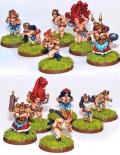 Fantasy Football Team - DWARF LADIES - SISTER SLEDGEHAMMERERS (12)