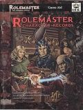 Rolemaster - ROLEMASTER CHARACTER RECORDS