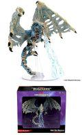 D&D Miniatures - Icons of the Realms - Boneyard - ADULT BLUE DRACOLICH  Premium Set