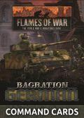 Flames of War - Bagration: German Command Cards (55)