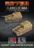 15mm WW2 German Elefant Tank-Hunter Platoon (2)
