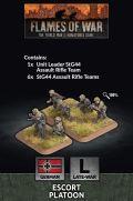 15mm WW2 German Escort Platoon (30) (Plastic)