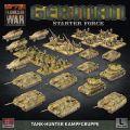 15mm WW2 German Tank-Hunter Kampfgruppe Army Deal (Plastic)
