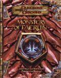 D&D 3rd Ed. - Forgotten Realms - MONSTERS OF FAERÛN (~100 monsters)