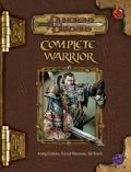D&D 3rd Ed. - COMPLETE WARRIOR