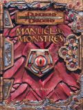 D&D 3rd Ed. - MANUEL DES MONSTRES (MONSTER MANUAL FRENCH)