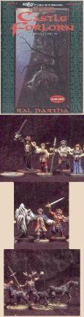 D&D Miniatures - Ravenloft - CASTLE FORLORN