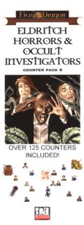 D&D 3rd Ed. - COUNTER PACK - IV. ELDRITCH HORRORS & OCCULT INVESTIGATORS