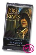 Lord of the Rings, The CCG - Booster Pack - SHADOWS 10 packs